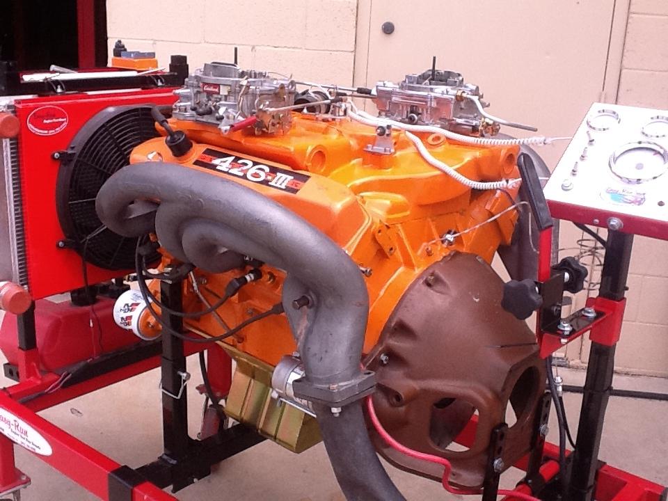 500 inch Max Wedge Engine Mopar