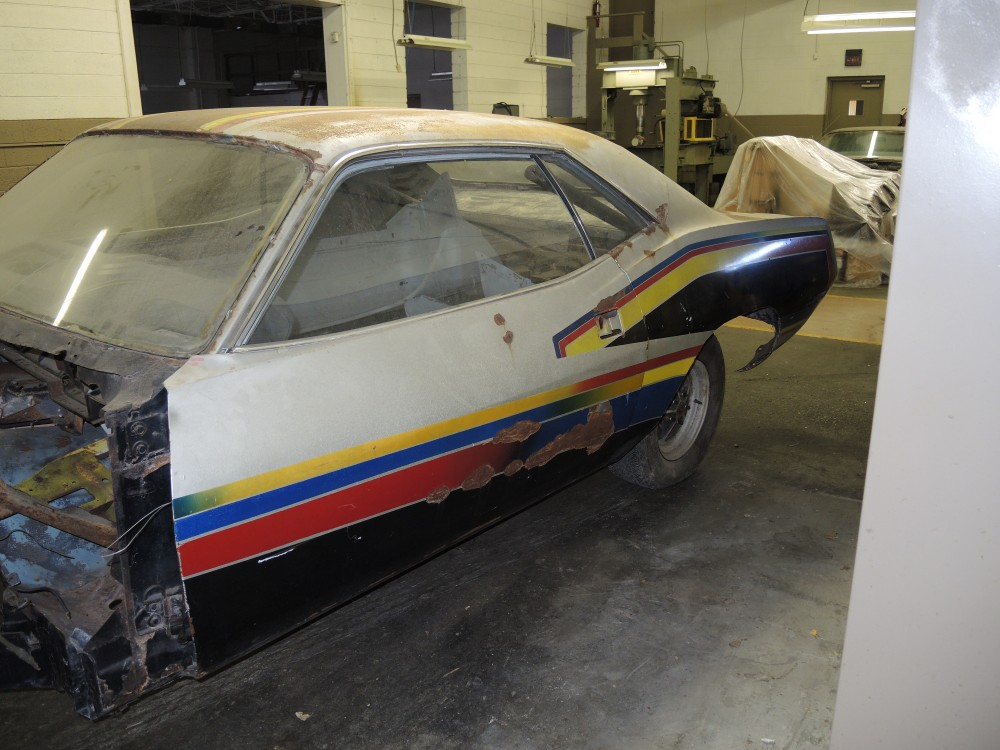 1970 Hemi Cuda Race Car Project