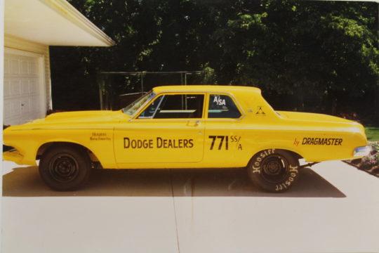 The Original Maverick Aluminum Nose Car