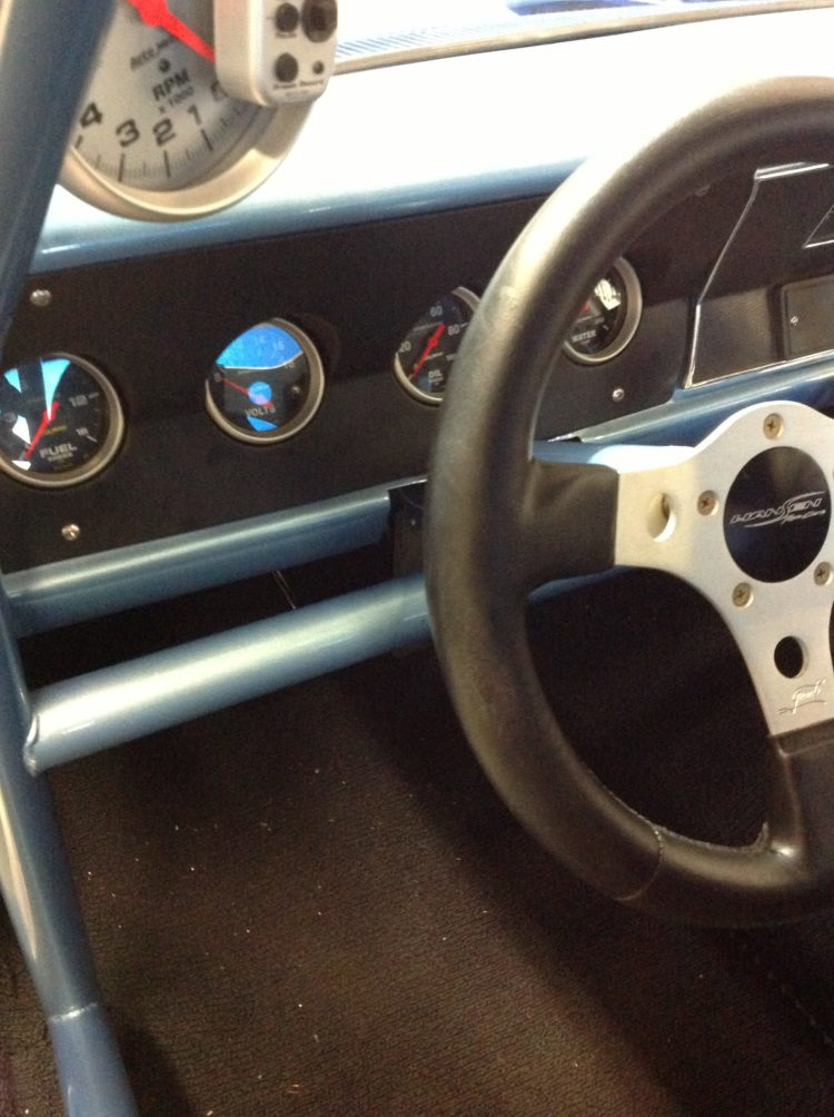 1969 Valiant Custom dash with Autometer gauges