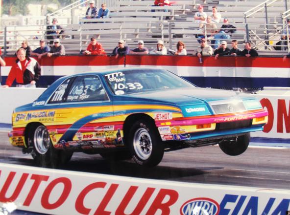 1987 Chrysler Lebaron Bob Mazzolini Racing